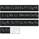Traditional Manuscript Alphabet Line, Black