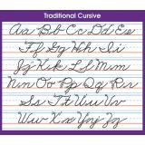 Adhesive Desk Prompts, Traditional Cursive