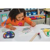 Learn It By Art™ Math Art Integration Kit, Geometry, 4th Grade