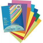 Pacon® Array® Card Stock, Colorful Assorted