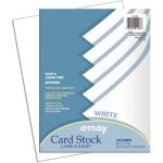 Pacon® Array® Card Stock, White