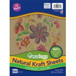 Ecology® Natural Kraft Sheets, Lightweight, 9