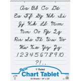 Chart Tablet, 24 x 32 Ruled 1 Tablet