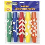 WonderFoam® Pattern Rollers: Dots, Hands, Butterflies, Moons & Stars, Zig Zags