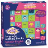 Mind Sparks® Language Learning Blocks, Spanish