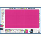 Ghostline® Poster Board Kit, 6 Assorted Colors / 13 Pieces,  14 x 22, 13 Pieces