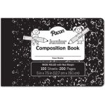 Pacon® Junior Composition Book, Black Marble, 3/8
