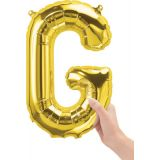 16 Foil Balloon, Gold Letter G