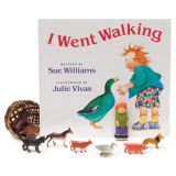 I Went Walking 3-D Storybook