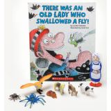 There Was an Old Lady Who Swallowed a Fly 3-D Storybook