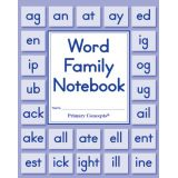 Word Family Notebook, Set of 20