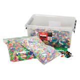 Plus-Plus® School Set, 7,000 pieces in All Colors (Basic, Neon, & Pastel)