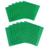 Plus-Plus® Baseplates, Classroom Pack, Set of 12