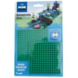 Plus-Plus® Baseplates, Duo, Set of 2
