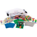 Plus-Plus® School Set, 3,600 pieces in Mixed Colors with 12 Baseplates
