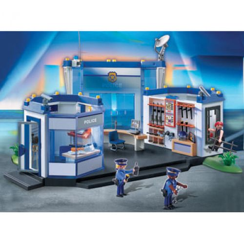 playmobil police headquarters - Playmobile Police