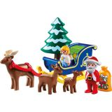 1.2.3 Santa Claus with Reindeer Sleigh
