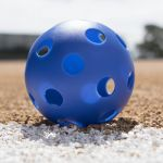 Plastic Balls, Softball size, Set of 6