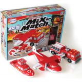 Magnetic Mix or Match® Vehicles, Fire & Rescue