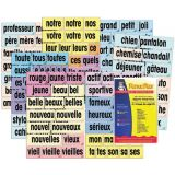 Adjective Attack Card Set, French