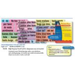 High-Frequency Vocab Card Set, Spanish