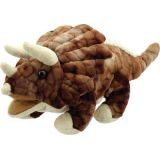 Baby Dino's Puppets, Triceratops-Brown