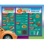 Drive-Thru Menu Math, Add & Subtract Money