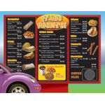 Drive-Thru Menu Math, Multiply & Divide Money