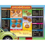 Drive-Thru Menu Math, Extra Menus 6-Pack