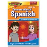 Conversational Spanish 2 DVD Set for Teens and Adults
