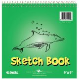 Kid's Sketch Book, 9 x 9, 40 sheets