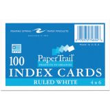 Index Cards, 4 x 6, Ruled