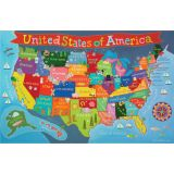 Kid's Map, United States