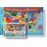 Kid's Floor Puzzle, United States
