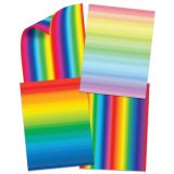Double-Sided Rainbow Paper