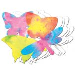 Color Diffusing Paper, Butterflies, 48 sheets