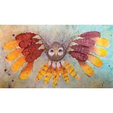 Color Diffusing Paper, Feathers, 80 sheets