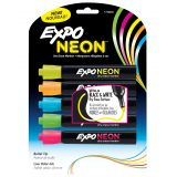EXPO® Neon Dry Erase Markers, 5 pack