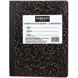 Composition Notebook, Wide Rule, 100 sheets