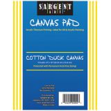 Sargent Art® Canvas Pad, 8 x 10