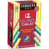 Sargent Art® School Grade Dustless Chalk, Assorted