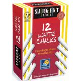 Sargent Art® School Grade Dustless Chalk, White