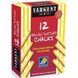 Sargent Art® School Grade Dustless Chalk, Yellow