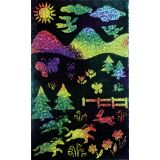 Soft-Scratch® Board, 10 sheets, stick included