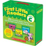 First Little Readers: Guided Reading Level C (Parent Pack)