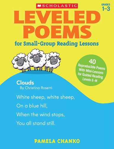 Leveled Poems For Small Group Reading Lessons