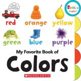 Rookie Toddler® Board Book, My Favorite Book of Colors