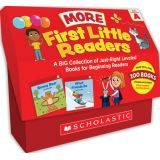 First Little Readers: More Guided Reading Level A Books (Classroom Set)