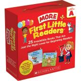 First Little Readers: More Guided Reading Level A Books (Parent Pack)