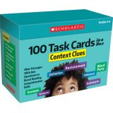 100 Task Cards in a Box: Context Clues